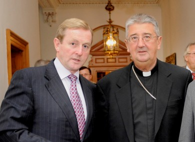 Enda Kenny and Diarmuid Martin in 2009