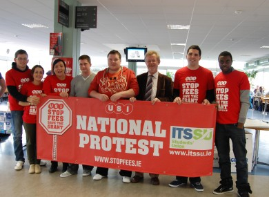 Nearly 600 students from IT Sligo are expected to join the march today.