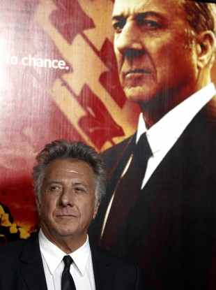 Dustin Hoffman at the premiere for the series in LA earlier this year.