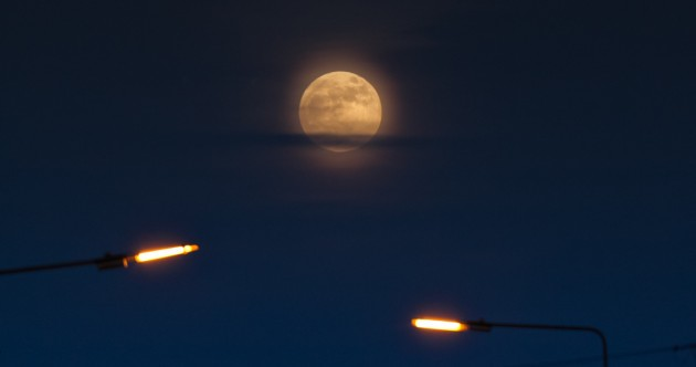 Gallery: The 'super moon' over Ireland