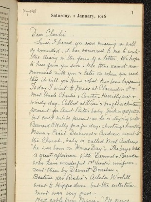 ww1 journal entries In the trenches: a first world war diary  diary entry on this very day, september 22, one hundred years ago, in 1914  diary, written in french and translated .
