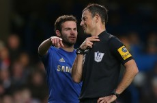 Clattenburg controversy: Mata, Torres did not hear comment, says Romeu