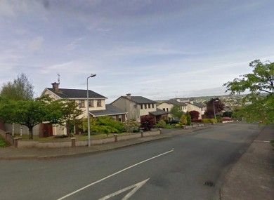 General view of the area in Carrigaline, where Mr Falsey was shot in the home he shared with his wife and child.
