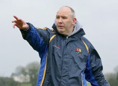 Longford manager Glenn Ryan.