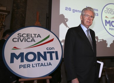 Mario Monti has set up his own political party to try and keep power - but the chances of him doing so are slim.