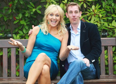 RTÉ presenters Miriam O'Callaghan and Ryan Tubridy (File photo)