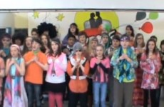 VIDEO: Sixth class pupils in Mayo perform Mama Mia as Gaeilge