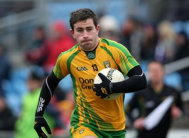 Donegal's Patrick McBrearty in action.