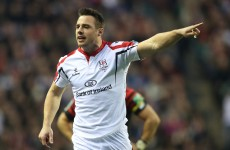 Pro12: Tommy Bowe in line for Ulster start against Dragons