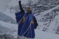 This guy survived a record-breaking base jump from Mount Everest