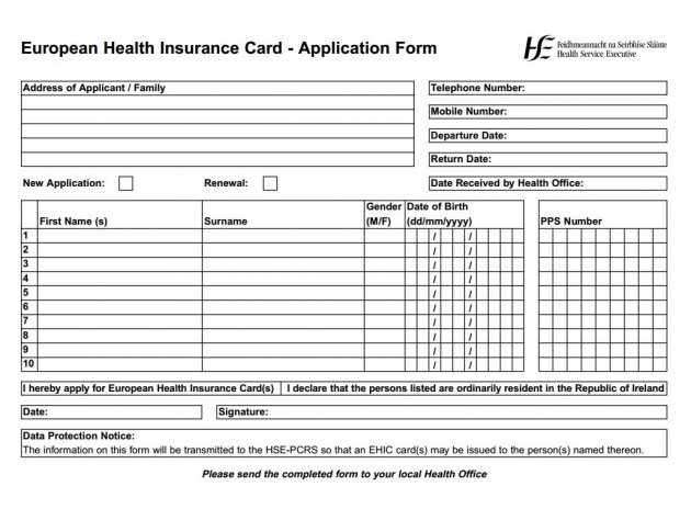 ontario health card application pdf