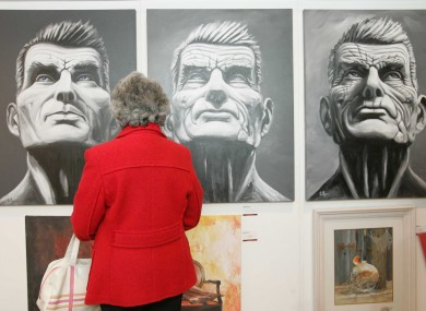 Beckett Waiting Exhibition at the Arkhangel Gallery in Kerry
