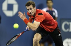 Llodra tries to catch out Andy Murray with sneaky underarm serve