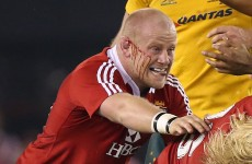 Lions prop cleared of biting charge despite bloody finger evidence