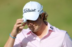 Peter Uihlein had this 40-footer for the first ever 59 on the European Tour