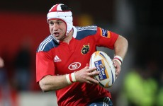 Murphy ready for wing battle at Munster