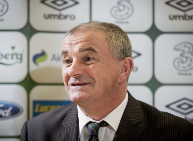 Noel King is the current Ireland under-21 coach.