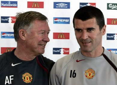 Dream ticket? Alex Ferguson and Roy Keane.