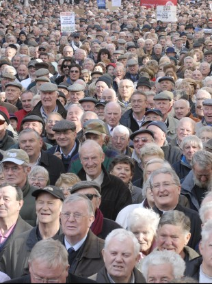 Some 15,000 older people turned out for the 2008 rally