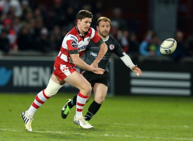 Freddie Burns is only on the bench for Gloucester.