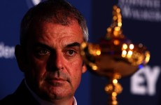 Paul McGinley to delay Ryder Cup captain's picks as 'mark of respect'