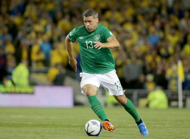 Jon Walters will miss Ireland's games with Germany and Kazakhstan.