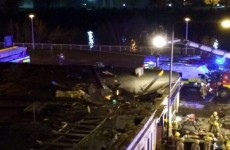 Police helicopter crashes into pub in Glasgow