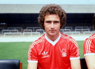 O'Neill the player in 1978.