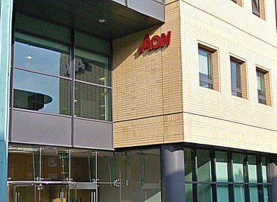 Aon's headquarters in Dublin.