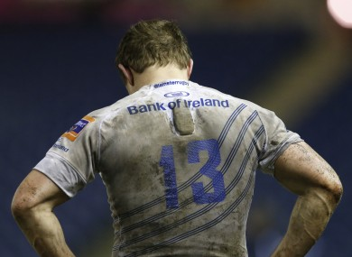 Brian O'Driscoll absorbs another Leinster loss.
