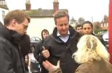 'The council have gone off on their holidays':  Angry flood victim confronts Cameron