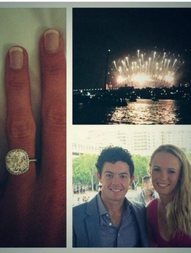 Rory McIlroy announces engagement to Caroline Wozniaki on Twitter