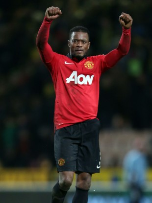 Patrice Evra is much happier with the way his team are playing now.