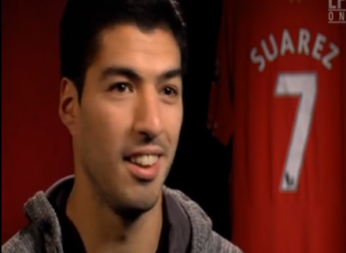 Luis Suarez gave an interview to LFC TV.