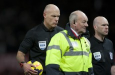 Moyes questions referee Webb's performance following Spurs defeat