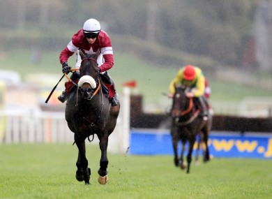 Cooper in the Gigginstown colours on board Roi du Mee (file photo).
