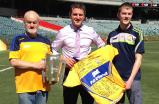 The Liam MacCarthy Cup has gone on a trip Down Under to Perth
