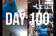 This video of a woman's first 100 days of exercise will get you off your arse