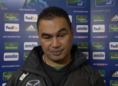 Connacht coach Pat Lam has much to mull on after his team were destroyed by Sarries.