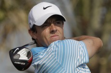 Rory burns it up on day two in Abu Dhabi