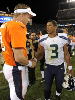 Peyton Manning and Russell Wilson will face off in Super Bowl XLVIII.