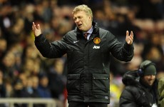 United 'laughing' at officials, Moyes says