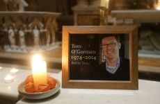 Family request privacy at funeral of Tom O'Gorman