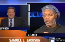 Samuel L. Jackson flips out after reporter mistakes him for L