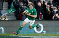 VIDEO: Andrew Trimble ends 40 minutes of fierce Scottish resistance