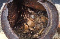 Couple find €7million in rare gold coins buried in their back garden