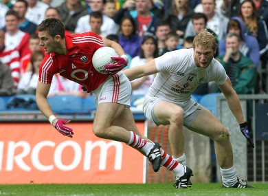 Eoin Cadogan in action for Cork against Kildare.