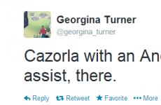 Cazorla's just a poor man's Andy Reid! It's the sporting tweets of the week