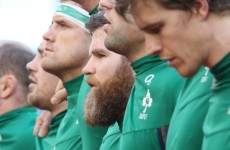 'It's a horrible looking thing': Sexton says D'Arcy will shave if Ireland win Grand Slam