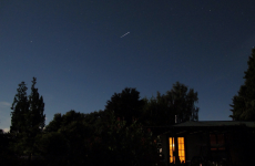 It's a bird, it's a plane…No it's the International Space Station